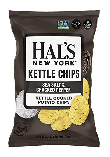 Hal's New York Kettle Cooked Potato Chips, Gluten