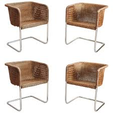 Dining Chair : Wicker Dining Chairs. Black Wicker Dining Chairs ... Set Of Six Leatherbound Rattan Ding Chairs By Mcguire Eight Brge Mogsen For Sale At 1stdibs Vintage Bentwood Of 3 Stol Kamnik Cane And Rattan Fniture Five Shop Provence Oh0589 Outdoor Patio Wicker With Arms Teva Bora 2 Verona Pair Garden Fniture Brown Muestra Natural Teak Wood Woven Chair Zin Home Hospality Kenya Mcombo Poolside Cversation C Capris And Ottomans Sc753 Weathered Gray
