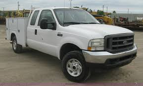 2003 Ford F250 Super Duty XL Ext. Cab Utility Truck | Item H...