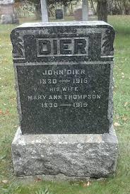 100 Mary Ann Thompson Dier 18301915 Find A Grave Memorial