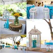 Rustic Beach Theme Wedding