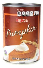 Libbys Pumpkin Nutrition Info by Hy Vee Pumpkin Hy Vee Aisles Online Grocery Shopping