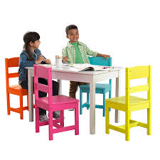 Amazon.com: KidKraft Highlighter Table And 4 Chair Set: Toys & Games Kidkraft Farmhouse Table And Chair Set Natural Amazonca Toys Nantucket Kids 5 Piece Writing Reviews Cheap Kid Wood And Find Kidkraft 21451 Wooden 49 Similar Items Little Cooks Work Station Kitchen By Jure Round Ding Vida Co Zanui Photos Black Chairs Gopilatesinfo Storage 4 Hlighter Walmartcom Childrens Sets Webnuggetzcom Four Multicolored