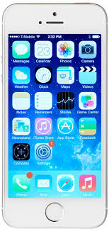 Amazon Apple iPhone 5S 16 GB Sprint Silver Cell Phones