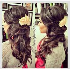 15 Latest Half Up Down Wedding Hairstyles For Trendy Brides