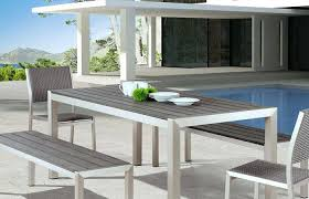 Modern Patio And Furniture Medium Size Garden Table Ultra Outdoor Seating Style Front
