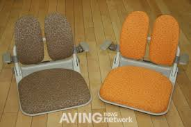 duoback to present its floor chair duorest idea with arm rests