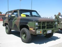 100 Blazer Truck 1984 Chevrolet M1009 Radio With Trailer 1 Flickr
