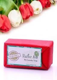Rustic Art Biodegradable Bio Laundry Soap 120 Gms