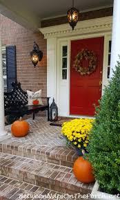Halloween Porch Decorations Pinterest by 854 Best Autumn Decorating Ideas Images On Pinterest Autumn