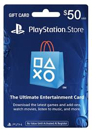 $50 PlayStation Store Gift Card - Slickdeals.net