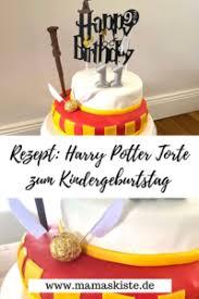 rezept einfache harry potter torte zum kindergeburtstag