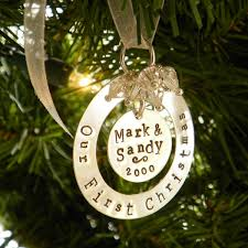 Our First Christmas Ornament Sterling Silver