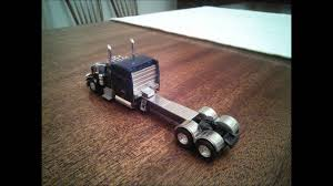 Trucks N Stuff Peterbilt 389 With Extended Frame, HO 1 87 Scale