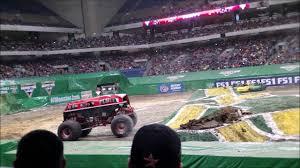 100 Monster Trucks San Antonio SAT 3RD ROW Jam In Alamodome Texas 12217