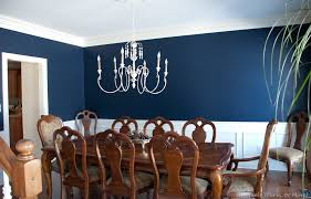 Appealing Blue Dining Room Color Ideas With