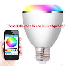 Smart Bluetooth Led Bulbs Speaker 6w Blubs And 3w Speaker Iphone