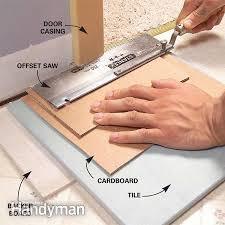 floor tile installation install a ceramic tile floor in the