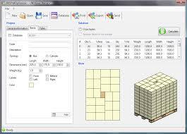 iris pallet software optimization freeware version 1 2 9 0 by iris srl