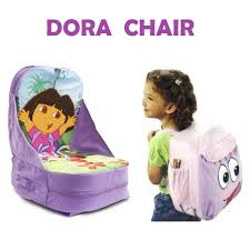 100 Dora High Chair Booster Seat Child Backpack Booster Storage