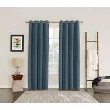 Absolute Zero Blackout Curtains Canada by Sun Zero Curtains U0026 Drapes Window Treatments The Home Depot