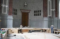 justice portail restauration de la salle des assises de la
