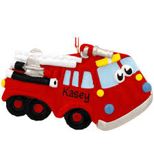 Personalized Cartoon Fire Truck Ornament | Bronner's CHRISTmas ... Amazoncom Hallmark Keepsake 2017 Fire Brigade 1979 Ford F700 Personalized Truck On Badge Ornament Occupations Lightup Led Engine Free Customization Youtube 237 Best Christmas Tree Ideas Images On Pinterest Merry Fireman Hat Ornament Refighter Truck Aquarium Decoration 94x35x43 Kids Dumptruck 1929 Chevrolet Collectors 2014 1971 Gmc Home Old World Glass Blown