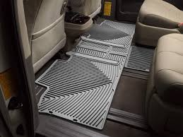 Weathertech Floor Mats Nissan Xterra by Weathertech All Weather Car Mats For Toyota Sienna 8 Passenger