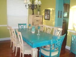 Marvelous Ideas Teal Dining Room Table Full Size Of Chair Cool Turquoise Chairs Pics