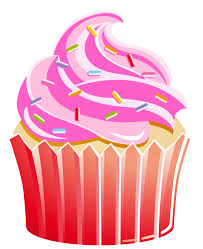 Strawberry clipart birthday cupcake 11