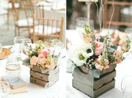 Fancy Rustic Wedding Decoration Non Mason Jar Centerpieces Got To See We Outdoor