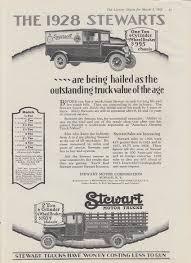 100 Value Of Truck Hailed Outstanding Truck Value Stewart Ad 1928 Ingersoll
