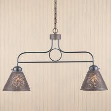 arm kitchen island pendant light in black traditional pendant