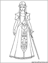 To Print Zelda Coloring Pages 85 About Remodel Picture Page With