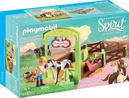 playmobil spirit pferdebox abigail boomerang