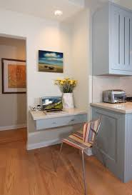 Narrow Kitchen Cabinet Ideas by 20 Clever Ideas To Design A Functional Office In Your Kitchen