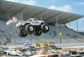 100 Monster Trucks Crashing Bigfoot Vs USA1 The Birth Of Truck Madness HISTORY