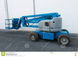 100 Boom Truck Lifting Lift In Construction Site Stock Image Image Of