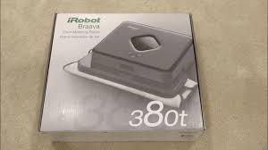 Irobot Roomba Floor Mopping by Irobot Braava 380t Floor Mopping Robot Unboxing Youtube