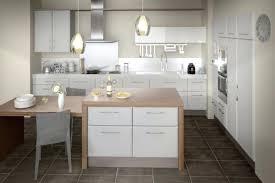 deco cuisine blanc et bois cuisine blanche et bois free blanc laque ilot central granit design