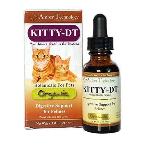 Kitty DT Botanical Felines Digestive Support Supplement - 1oz
