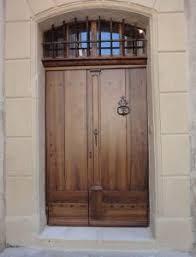 porte entree vantaux porte en vieux chêne à 2 vantaux portes d entree portes