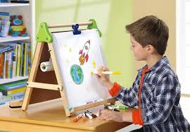 Kids U0027 Easels Art Tables by Wooden Toy Drawing Board For Kids Creatistics Large Outdoor