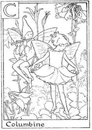 Flower Fairies Coloring Pages From And Morei Fairy 887x1286 Pixels