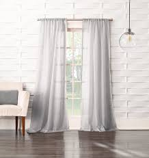 White Sheer Voile Curtains by Amazon Com No 918 Tayla Crushed Sheer Voile Rod Pocket Curtain