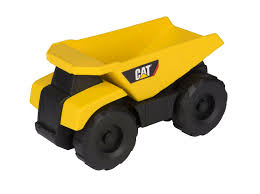 Toy State Caterpillar CAT Excavator Big Sound Machine Dump Truck ...