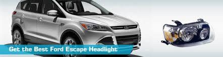 ford escape headlight headlights crash tyc anzo 2005
