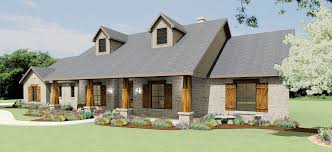 Sumptuous Design Ideas 3 Texas Ranch House Plans With Porches Home