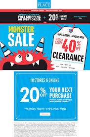 Childrens Place Printable Coupon January 2019