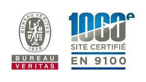 ce bureau veritas 1000è site certifié en 9100 par bureau veritas certification